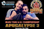 Iago Barros y Jenny Rodriguez nuevamente en UK