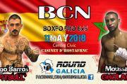 Iago Barros 'Pitbull' vs Moussa Gholam el próximo 11 de mayo en BCN