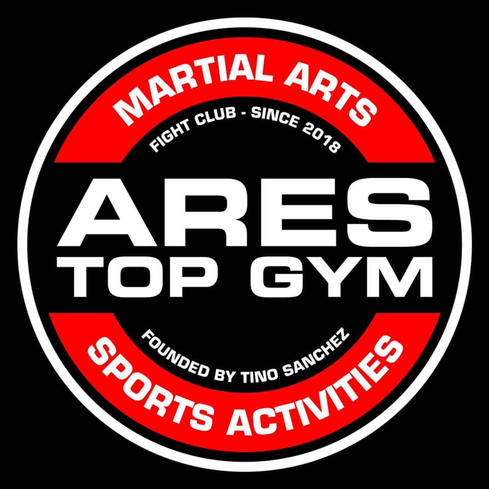ares top gym logo