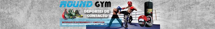 Banner COMBATE Round Gym 720x100