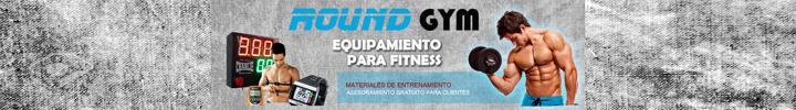 Banner FITNESS Round Gym 720x100