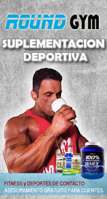 Banners NUTRICION Round Gym 222x410