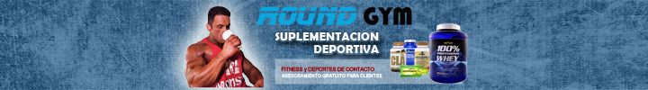 Banners NUTRICION Round Gym 720x100