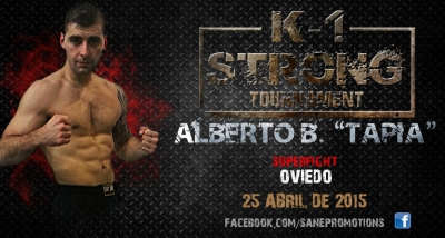 Alberto Blanco, una superfight asturiana para el K1 STRONG