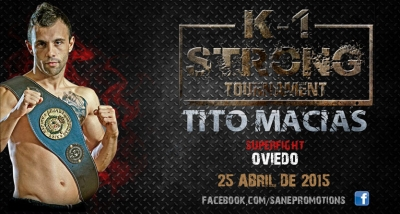 Tito Macias presenta su Superfight en el K1 STRONG