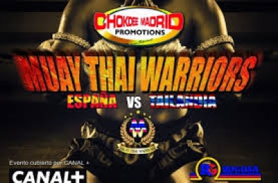 Velada Muay Thai Warriors España-Tailandia (Madrid)