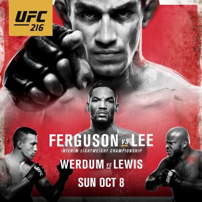 UFC 216. Ferguson -vs- Lee