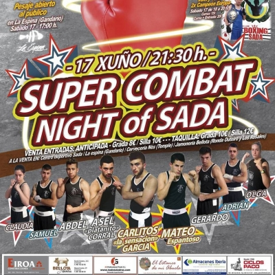 Super Combat Night of SADA el 17 de junio
