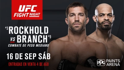 ANÁLISIS UFC Fight Night: Rockhold -vs- Branch