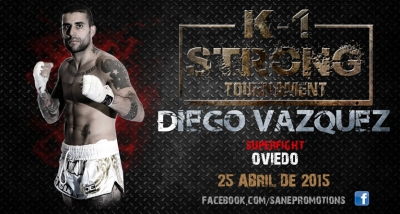 DIEGO VAZQUEZ  Super-Fight de altura para el K1 STRONG