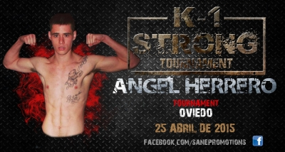 Angel Herrero ilusionado con la disputa del K1 STRONG